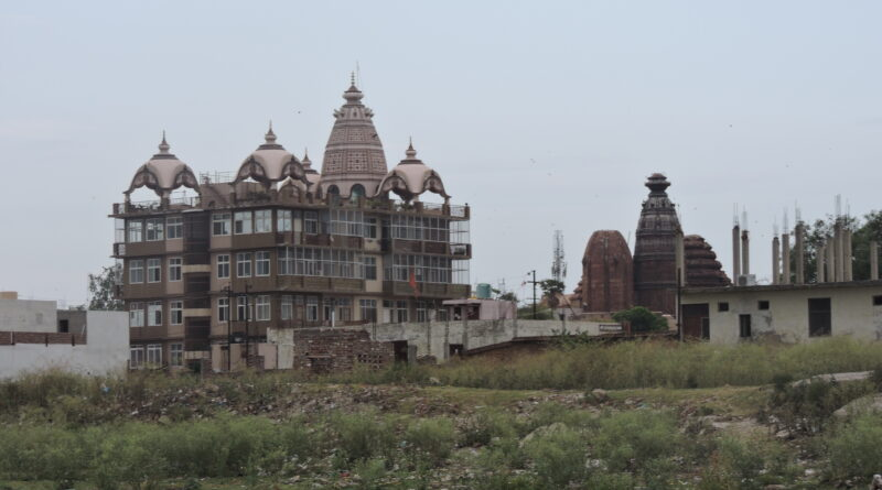 Yamuna in Vrindavan is choking from illegal encroachments